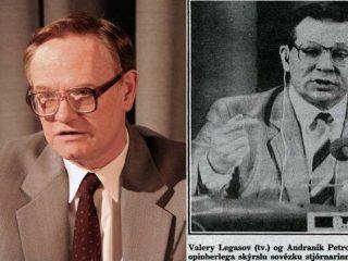 Leynihljóðsnældurnar um Tsjernobyl: Legasov talar
