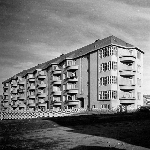 Langahlíð 19-25, 1950