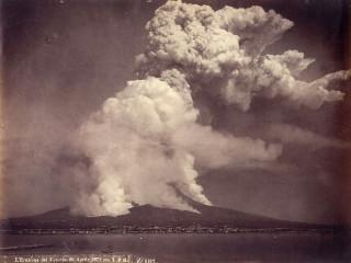 Vesúvíus með íslenskum augum árið 1885