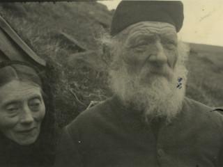 Hjón frá Múla í Færeyjum árið 1940