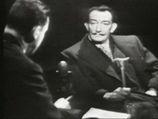 Salvador Dali í sjónvarpsþætti Mike Wallace, 1958