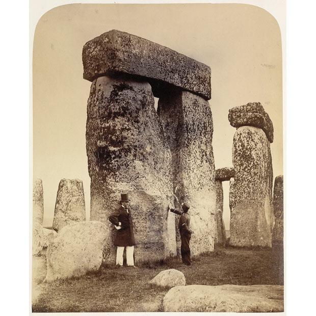 Stonehenge árið 1867