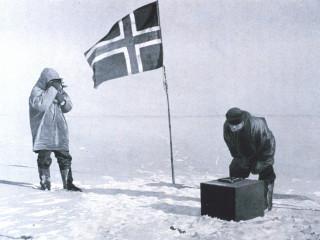 Amundsen á pólnum