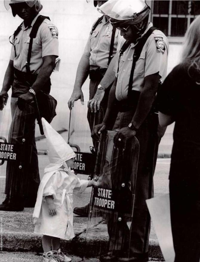 Ku Klux Klan-barnið og svarti lögreglumaðurinn