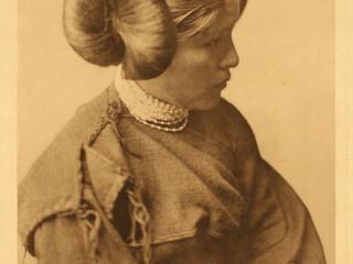 Hopi-stúlka, árið 1922