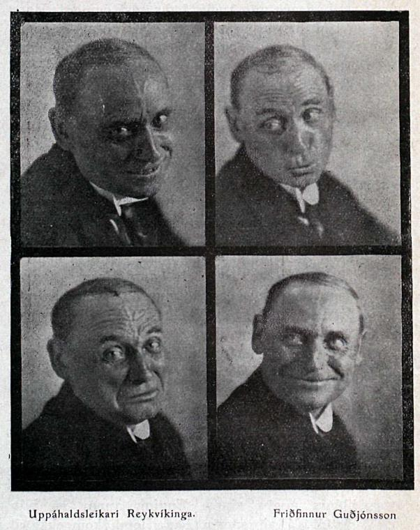 Íslenskur leikari, 1932