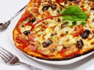 Þvílík kaka! Hvað er pizza?
