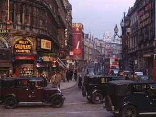 London í lit árið 1949