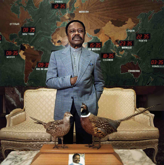 Omar Bongo, forseti Gabon í 42 ár