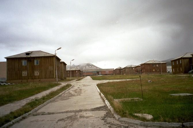 Píramídinn: Rússneskur draugabær á Svalbarða
