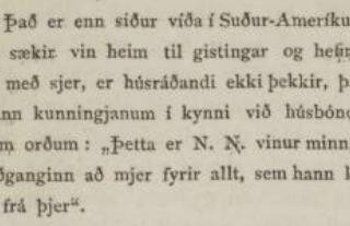 """""""Það hræddi svartur maður hana móður mína"""""""
