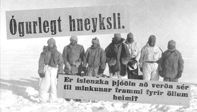 Breski íshafsleiðangurinn 1931 og misheppnuð björgun Íslendinga