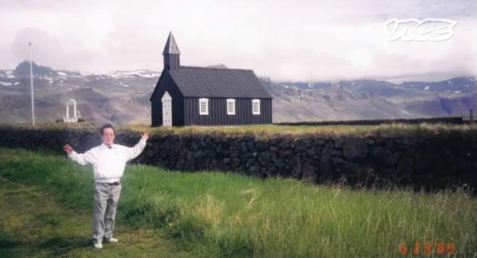 Japönsk mannæta gekk laus á Íslandi