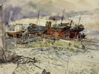 """""""Þar búa spámenn og englar"""": Breskur stríðslistamaður á Íslandi, 1943"""