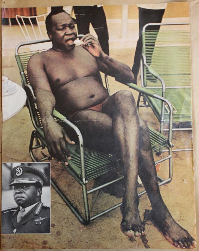 Idi Amin á skýlunni