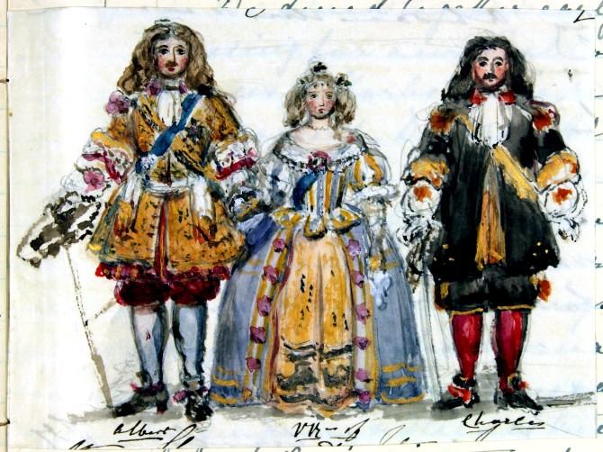 Teikningar Viktoríu drottningar