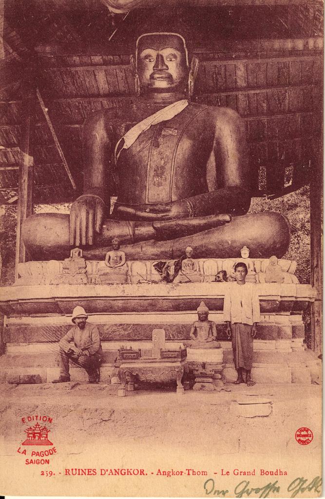 Ferðamaður í Angkor Thom
