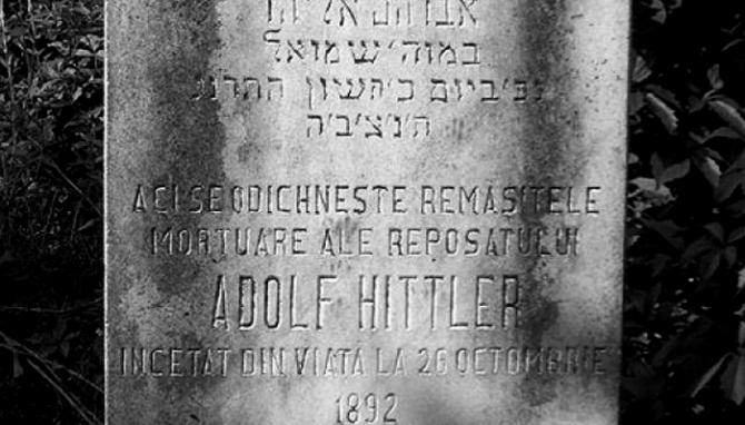 Adolf Hitler liggur grafinn í gyðingagrafreit í Búkarest