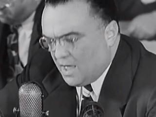 J. Edgar Hoover um kommúnisma