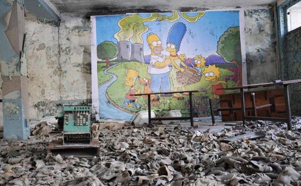 Simpson-fjölskyldan í Tsjernóbýl