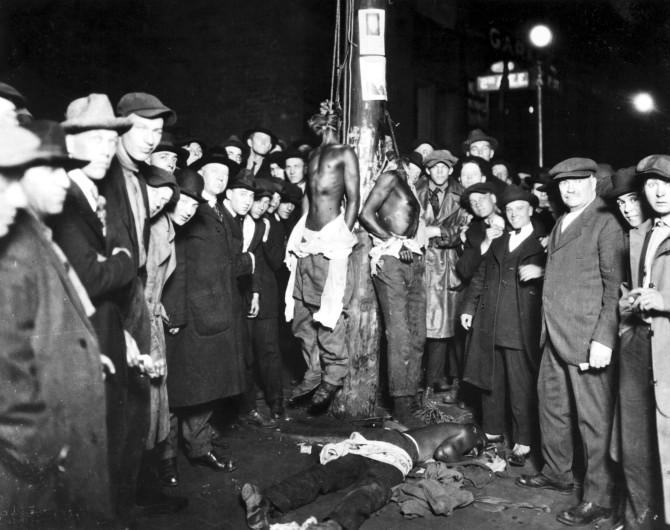 Múgurinn sem myrti þrjá blökkumenn í Minnesota 1920