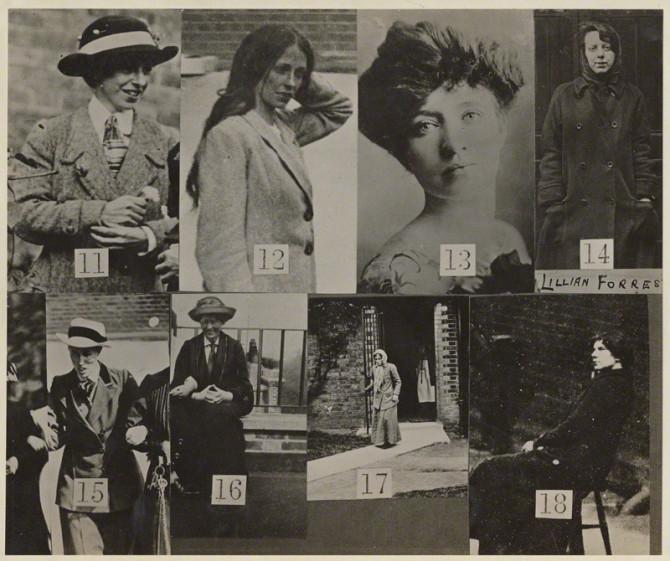 Lögreglan njósnar um kvenréttindakonur, Bretland 1913