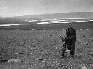 Breti hjólaði þvert yfir Ísland á fjórða áratugnum