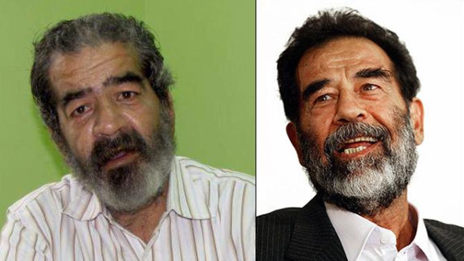 Klámmyndagengi ofsækja tvífara Saddams Husseins